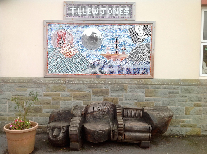 Tllew Jones Mosaic